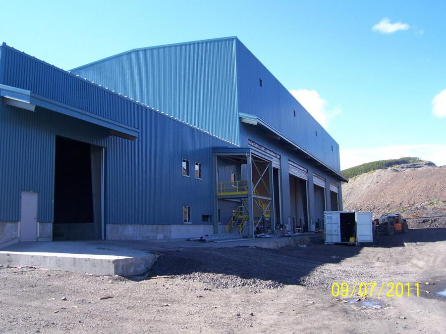 Brule Mine - New Truck Shop / Admin Building - Chetwynd, BC