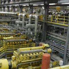 Diavik Finning Powerhouse Generators Addition 2014